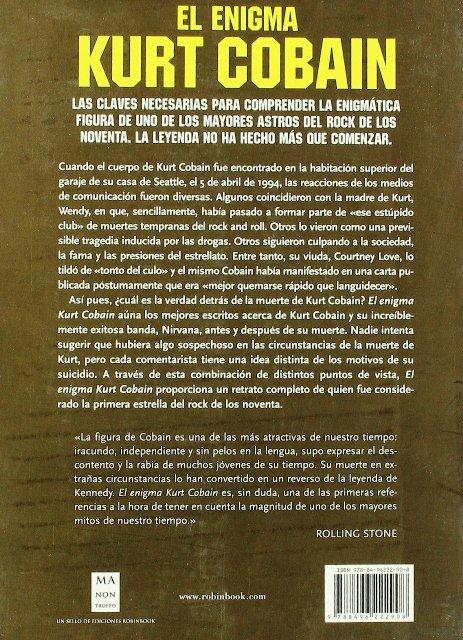 KURT COBAIN EL ANGEL ERRATICO . LA NOVELA GRAFICA DEL ROCK