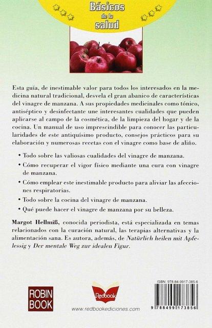 EL LIBRO DEL VINAGRE DE MANZANA . BASICOS DE LA SALUD
