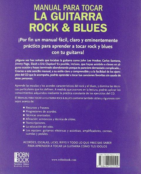 LA GUITARRA ROCK Y BLUES (CD) - MANUAL PARA TOCAR