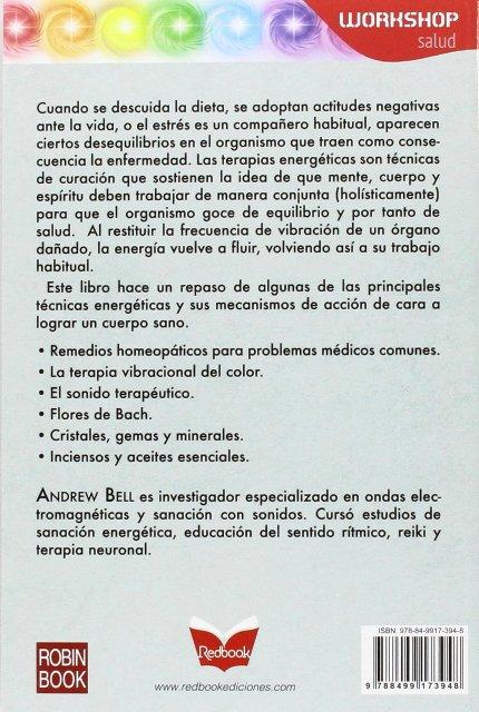 TECNICAS DE CURACION ENERGETICA . WORKSHOP SALUD