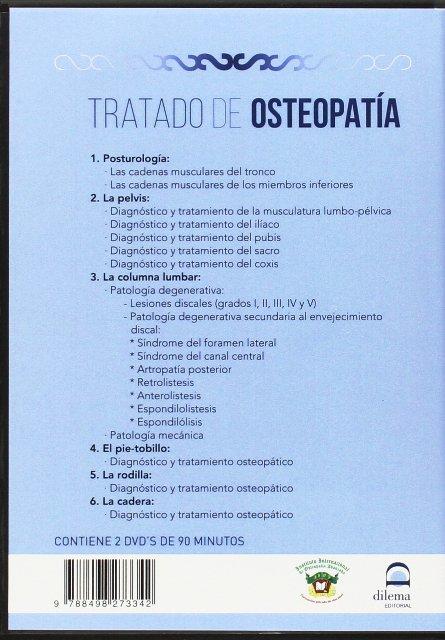 TRATADO DE OSTEOPATIA VOL.1 ( 2 DVD + LIBRO )